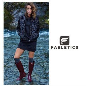 Fabletics Paola Peplum Puffer Jacket